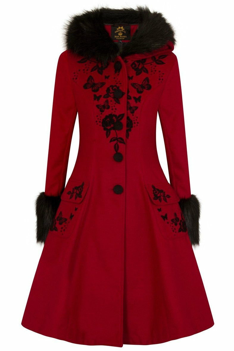 Anderson Red and Black Coat