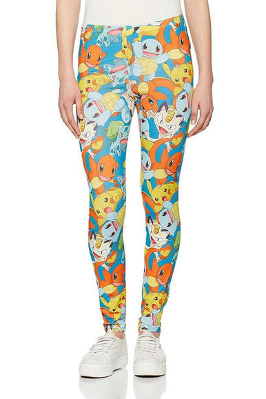 Pokemon Fighting Leggings