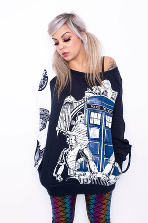 Doctor Who Villains Sweater