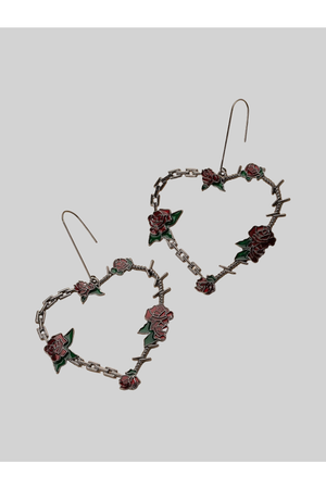 Rose and Thorns Earrings