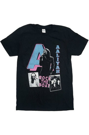 Aaliyah : Rock The Boat T-Shirt
