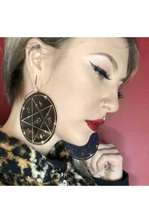 Witchcraft Plug Friendly Earrings