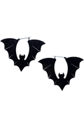 Glitter Bats Earrings