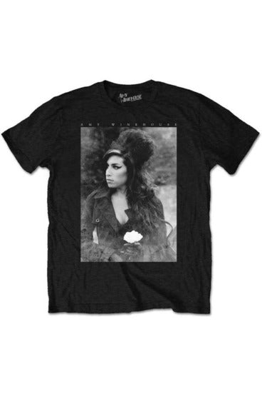 Amy Winehouse Flower T-Shirt