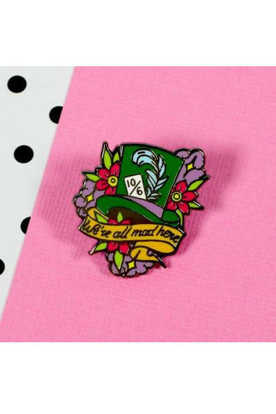 Mad Hatter Enamel Pin