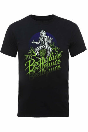 BEETLEJUICE : Faded T-Shirt - Soft Kitty Clothing