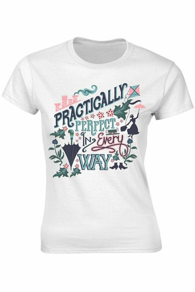 Mary Poppins Practically Perfect In Every Way T-Shirt