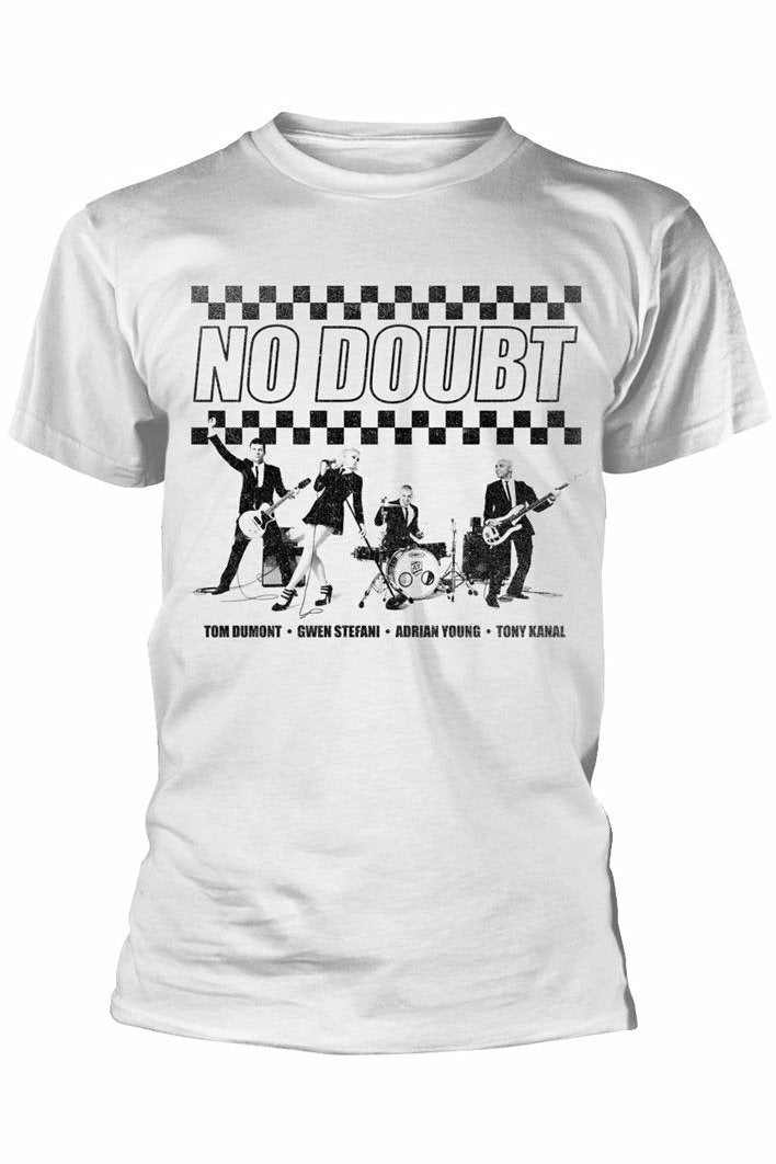 NO DOUBT : Checkerboard T-Shirt