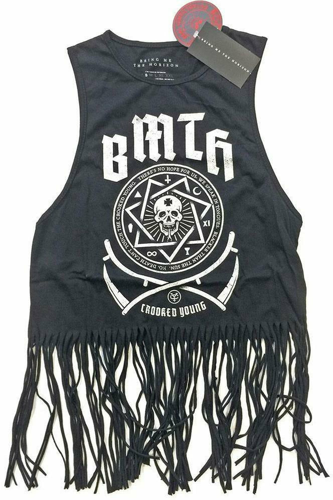 Bring Me The Horizon : Tassel Crop Top