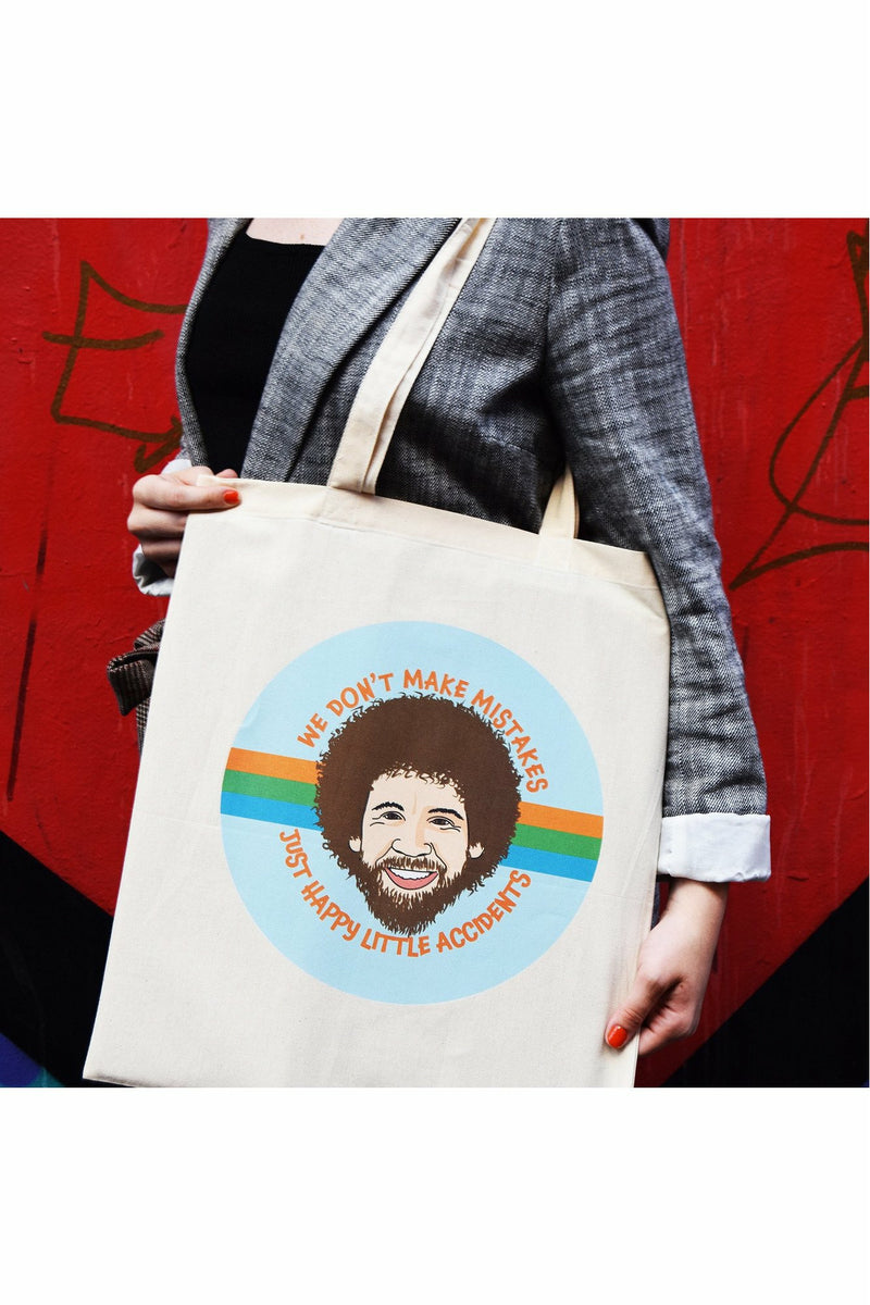 Bob Ross Tote Bag