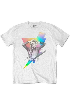 David Bowie : Holographic Foil Bolt T-Shirt