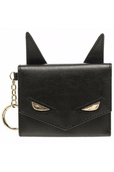 Batman Eyes Wallet with Chain