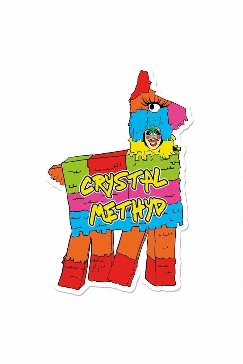 Crystal Methyd Pinata Sticker