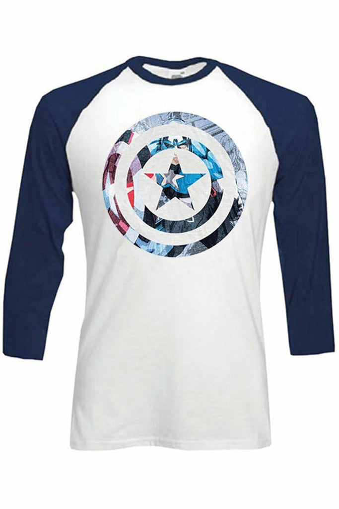 Captain America Baseball Top