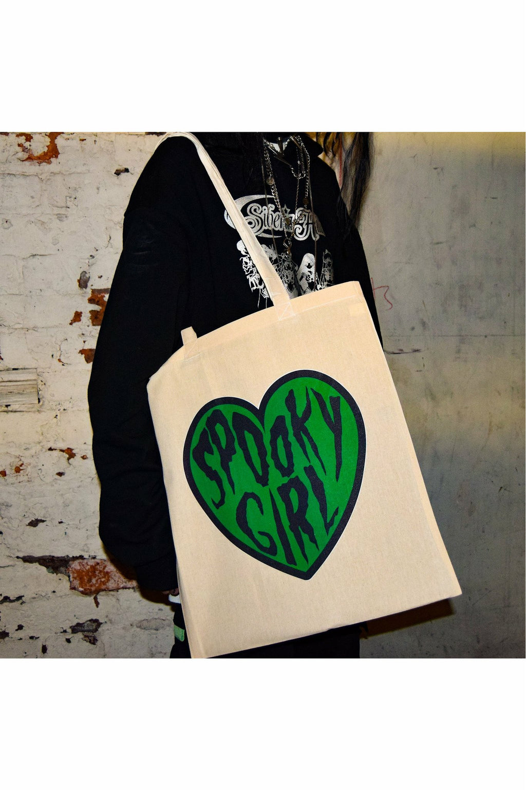 Spooky Girl Tote Bag