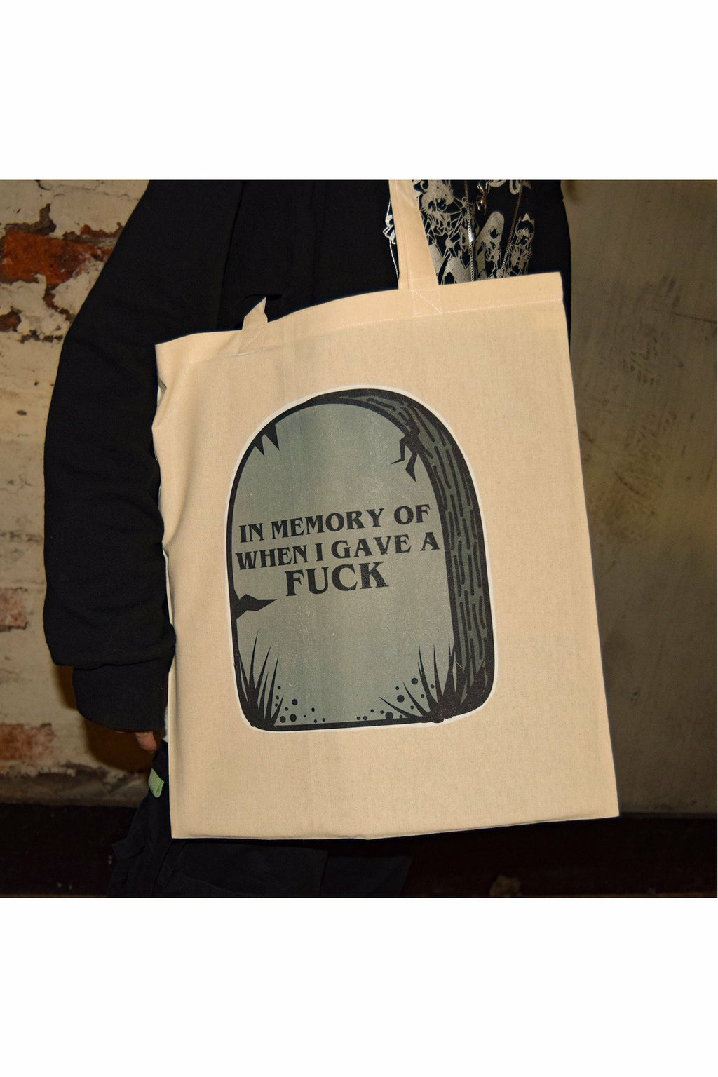 In Memory When I Gave A F*CK Tote Bag