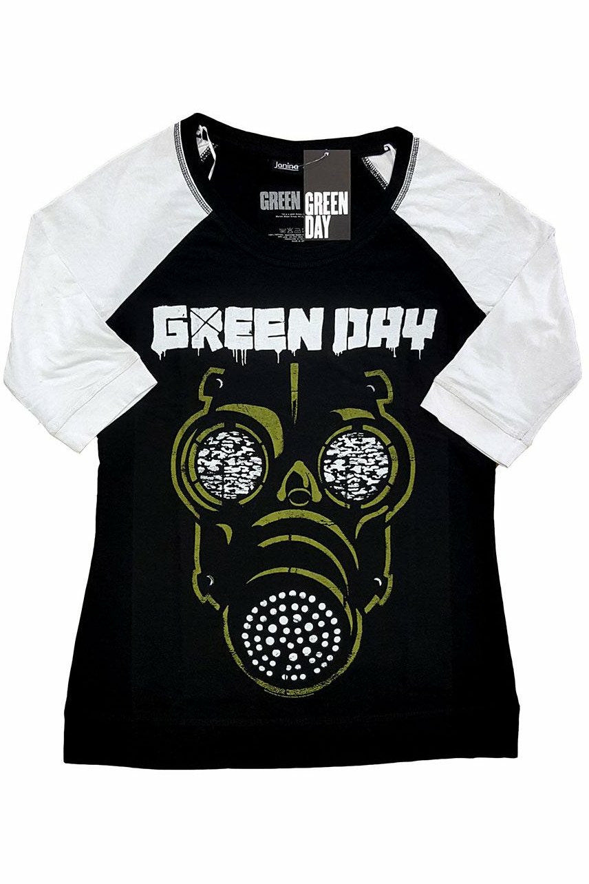 Green Day : Green Mask Raglan