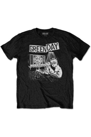 Green Day : TV Wasteland T-Shirt