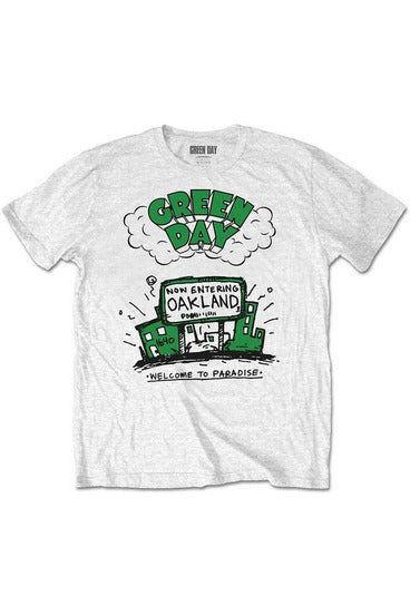 Green Day : Welcome To Paradise T-Shirt