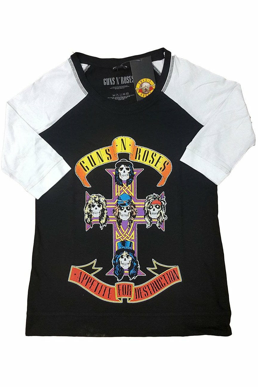 Guns N' Roses : Appetite For Destruction Raglan