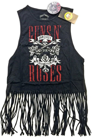 Guns 'N Roses : Tassel Crop Top