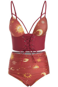 Celestial Lace-Up Bikini *NEW COLOURS*