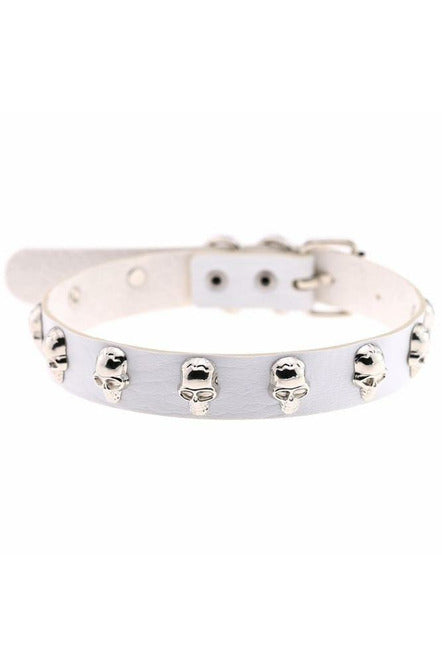 Skeleton Embellished Choker