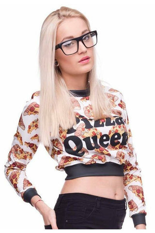 All I Care About Is Pizza Sweater