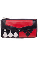 Harley Quinn Flap Wallet Purse