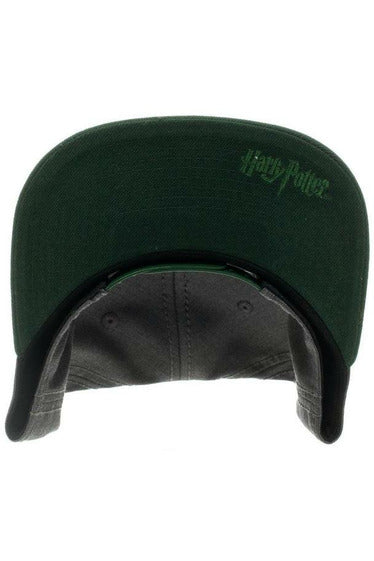 Slytherin Snapback Hat - Soft Kitty Clothing