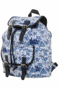 Harry Potter Icons Blue Backpack