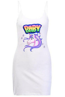 Unicorn 90's Bodycon Dress