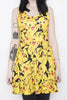 Pikachu Black Skater Dress