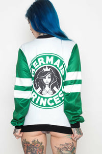 Mermaid Princess Short Bomber Jacket