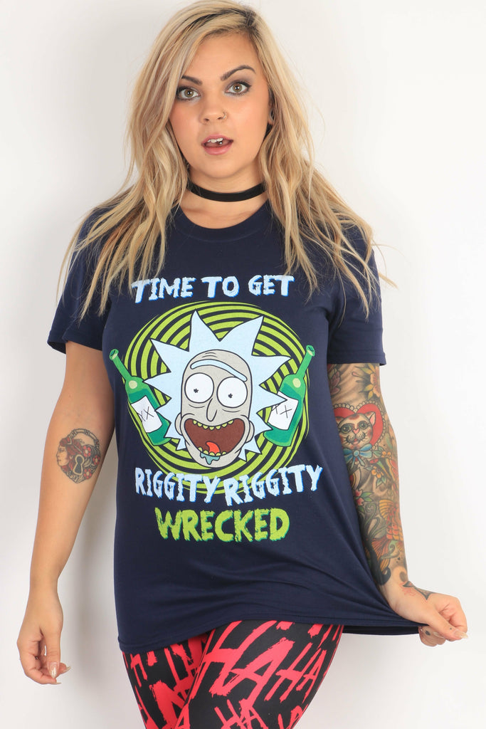 Rick & Morty Riggity Wrecked T-Shirt