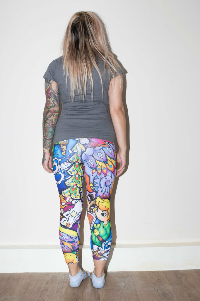 The Legend of Zelda Windwaker Leggings