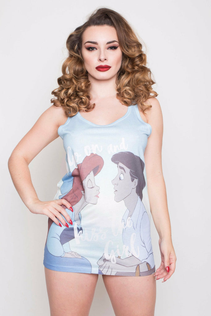 The Little Mermaid Kiss The Girl Top
