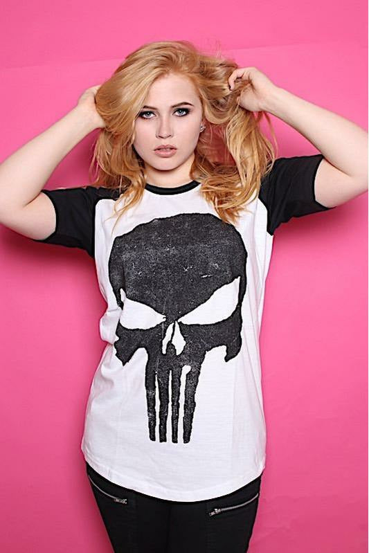 Punisher Distressed T-Shirt