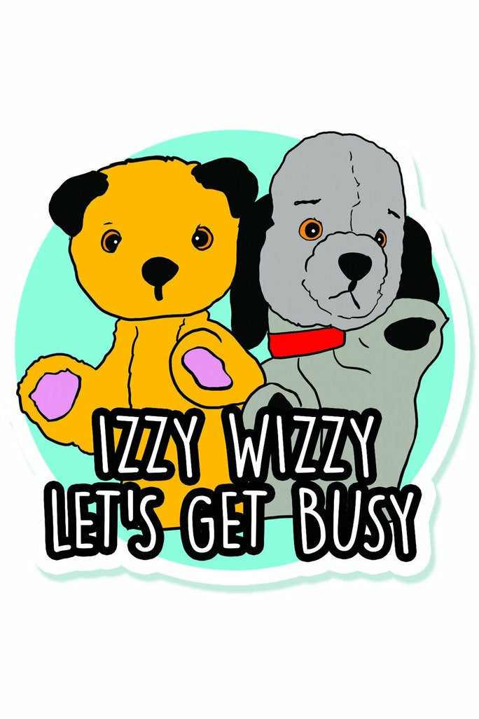 Sooty and Sweep Sticker