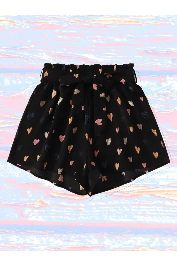 Crazy For You Heart Shorts