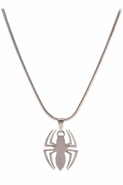 Spider-Man Silver Plated Necklace