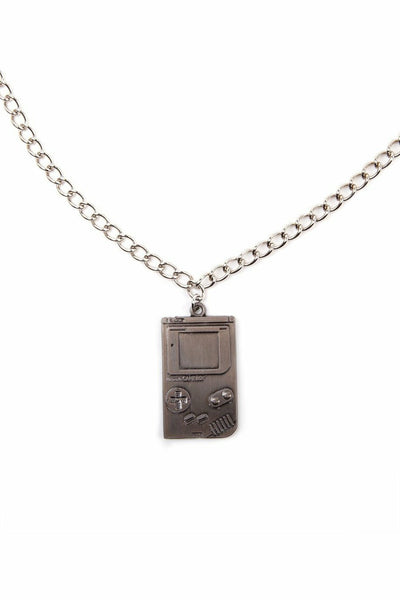 Nintendo Gameboy Metal Necklace