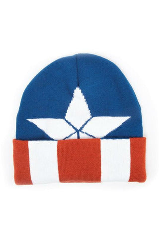 Captain America Knitted Beanie Hat