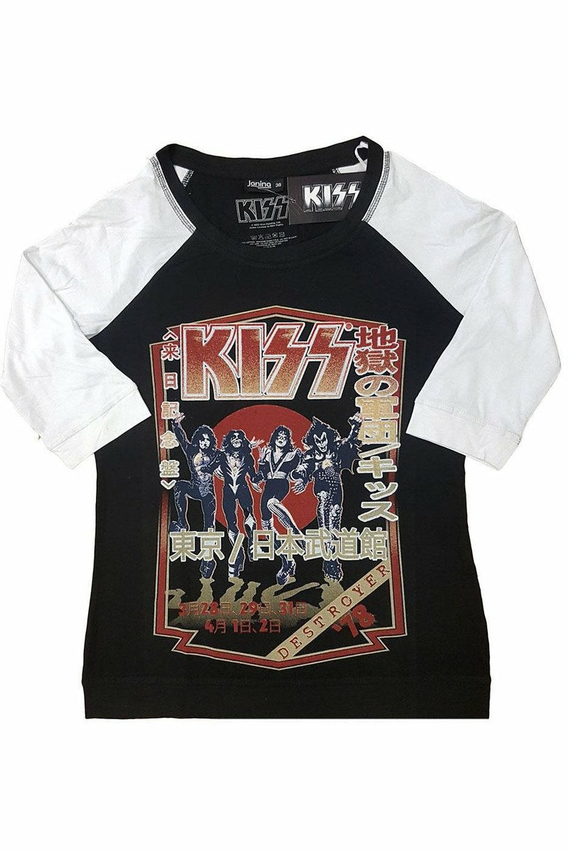KISS : Destroyer Tour Raglan