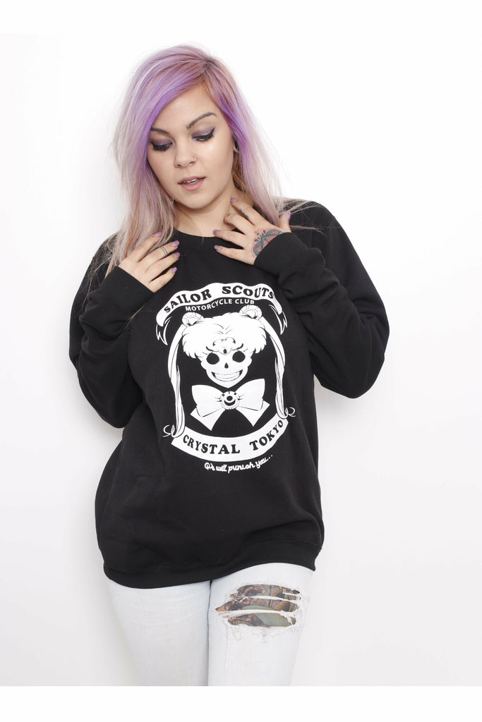 Sailor Scouts Club Sweater