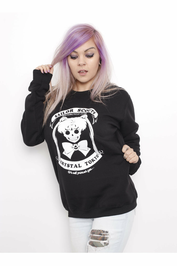 Sailor Scouts Club Sweater - Soft Kitty Clothing