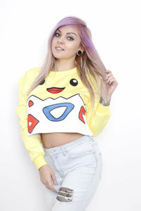 Togepi Crop Sweater