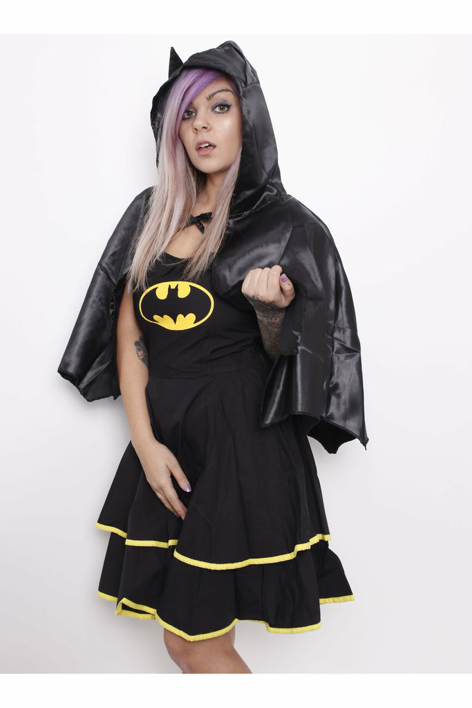 Batman Cape Short Dress