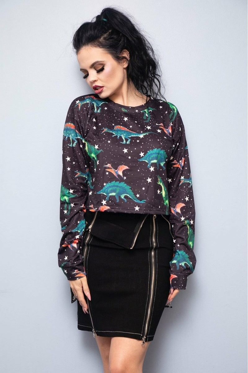 Dinosaurs In Space Sweater