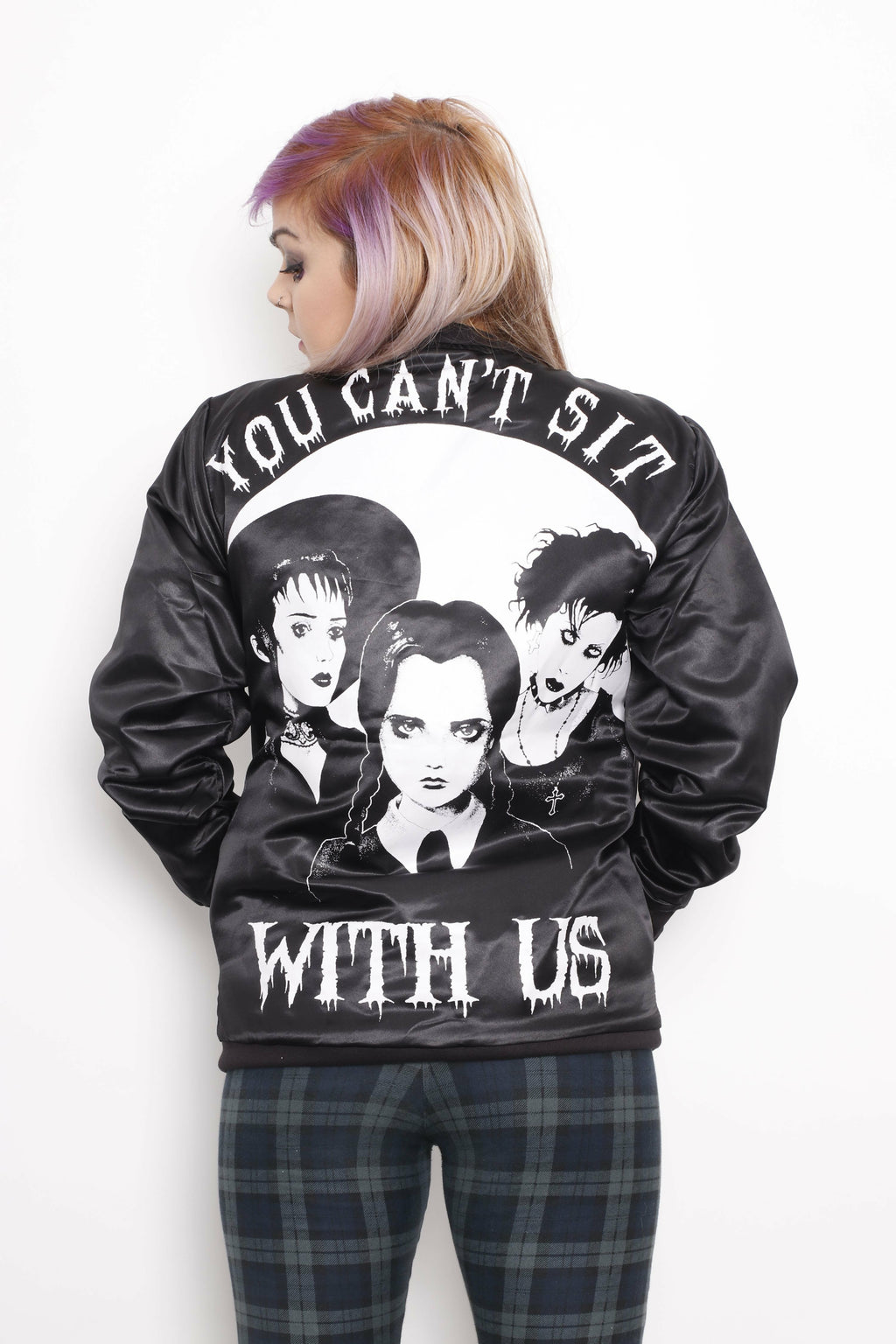 You Can't Sit With Us Varsity Jacket